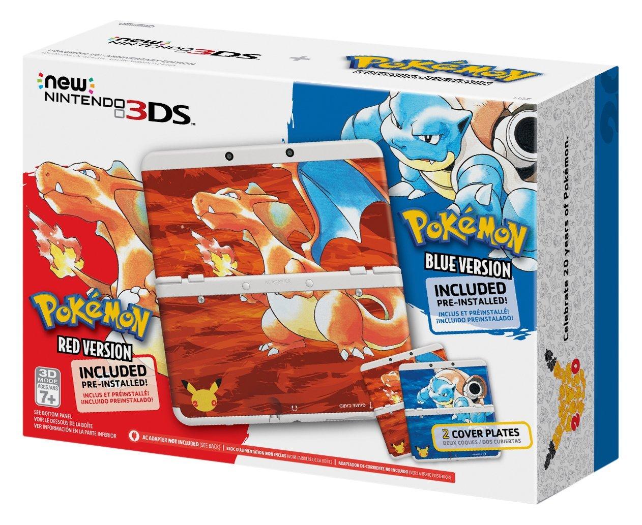 Amazon MX: Preventa Nintendo New 3DS Pokémon 20 aniversario