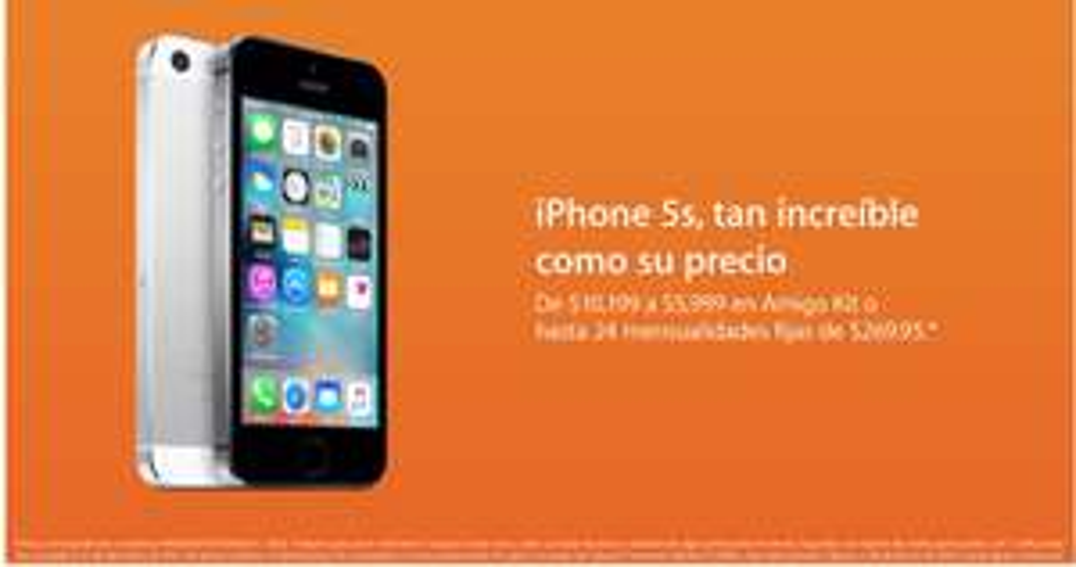 Mac Store: Iphone 5S 16GB a $5,999 (En tienda)