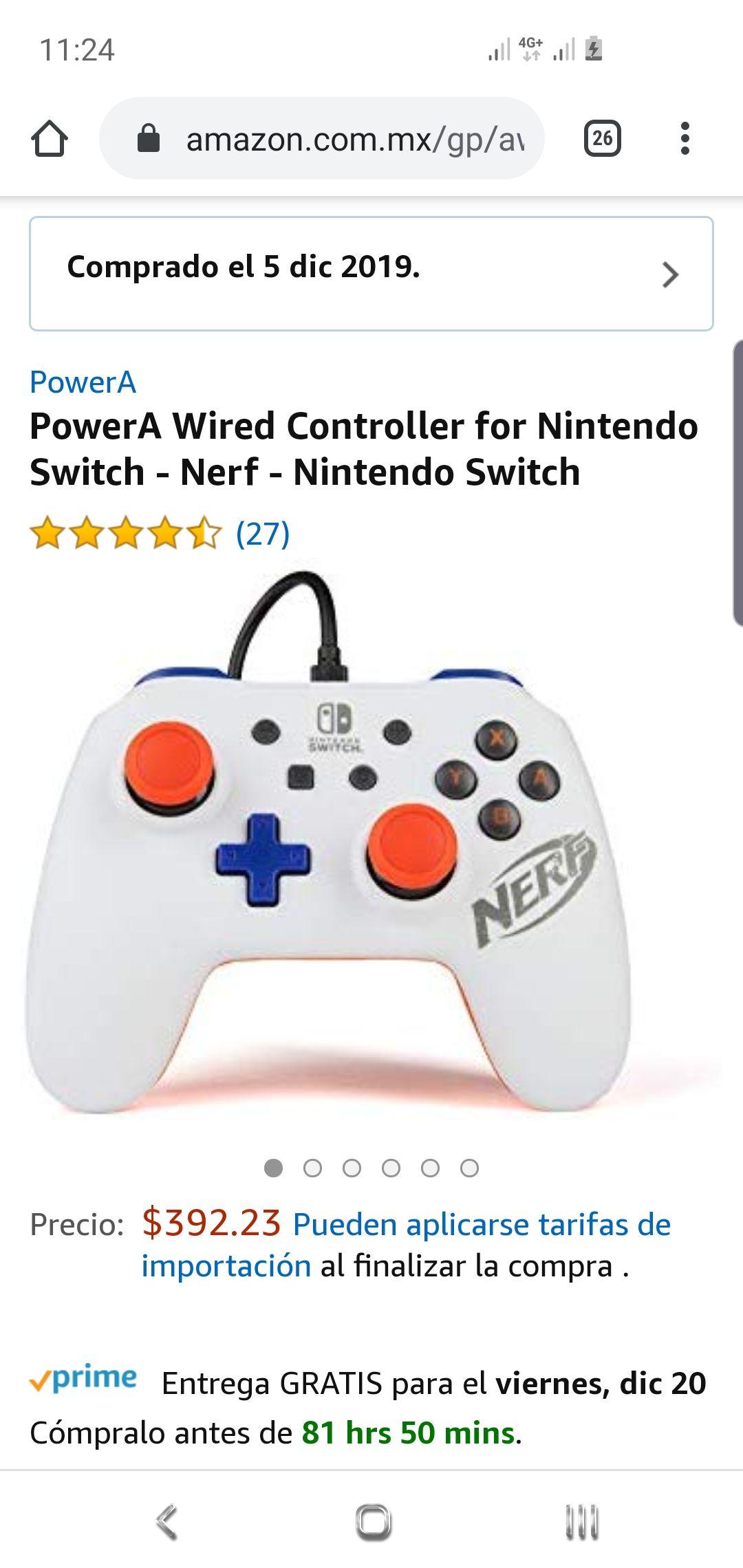 Amazon: Control Switch Nerf