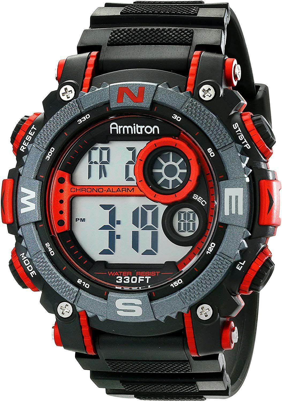Amazon: Armitron Sport 40/8284 Rojo Reloj digital