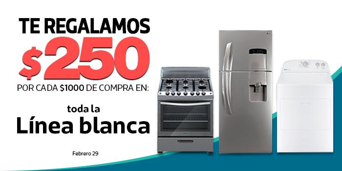 Comercial Mexicana: $250 de descuento por cada $1,000 en línea blanca, 2x1 y medio en llantas y más