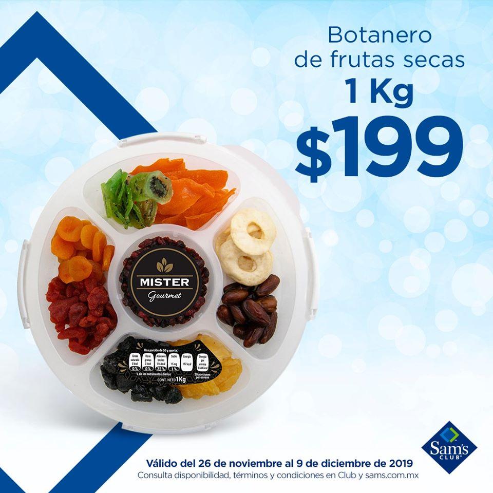 Sam's Club: Botanero de Fruta Seca Mister Gourmet 9 Variedades 1 kg