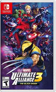 Amazon: Marvel Ultimate Alliance 3: The Black Order - Nintendo Switch - Standard Edition