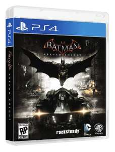 Amazon: Batman Arkham Knight para PS4 Standard Edition a $449