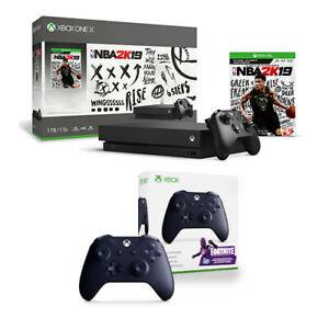 Ebay: xbox one x mas control de regalo (usando cupon tententen)
