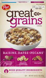 Sam's Club: Cereal Post Great Grains