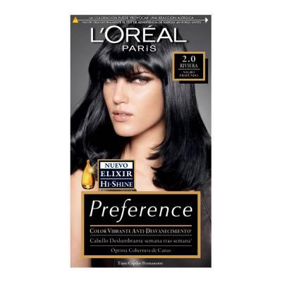 Superama en línea: Tinte para cabello LOréal Paris Preference 2.0 Riviera negro a 2 x $90