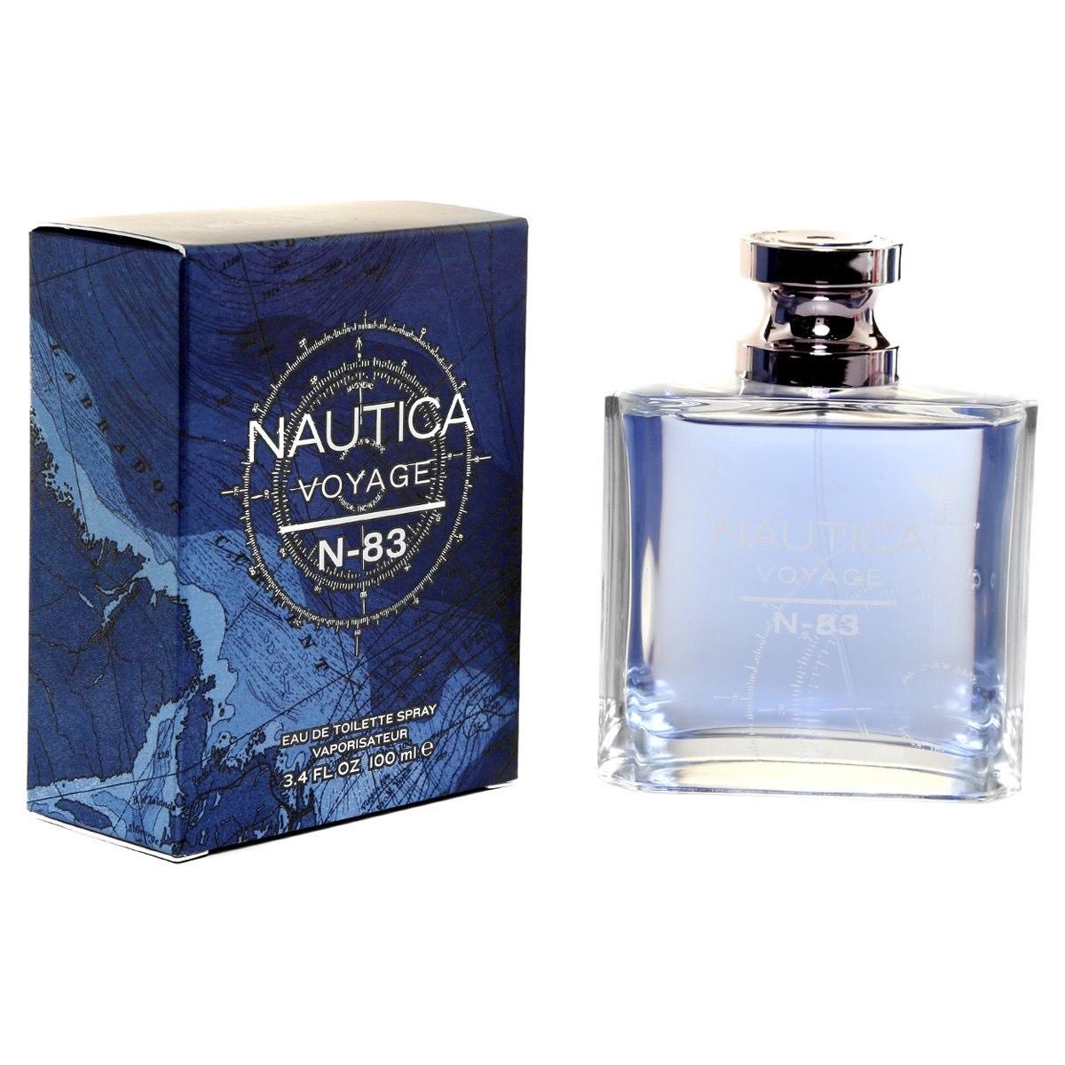 Netshoes: Perfume Nautica Voyage N83 Edt 100 ml - Azul y Plata