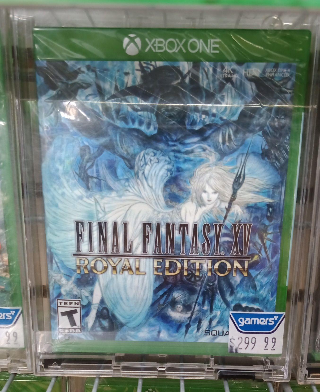 Gamers: Final Fantasy XV Royal Edition para Xbox One