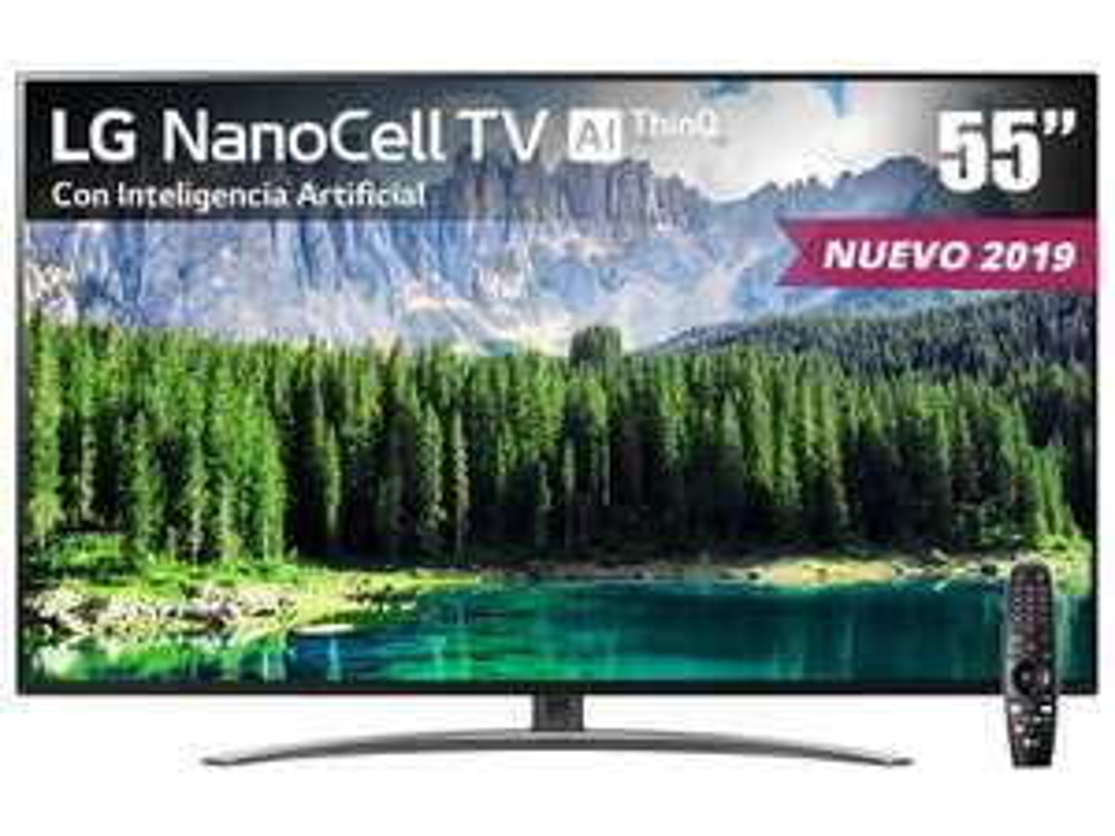 Liverpool en línea: Pantalla LG NanoCell TV AI ThinQ 4K 55 Pulgadas 55SM8600PUA