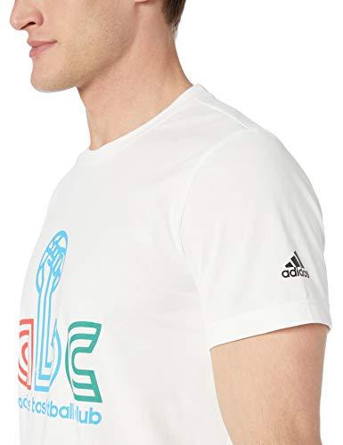 Amazon: Talla CH Adidas Playera ABC Hand Graphic para Hombre