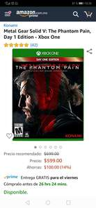 Amazon: Metal Gear Solid V Xbox One - Amazon