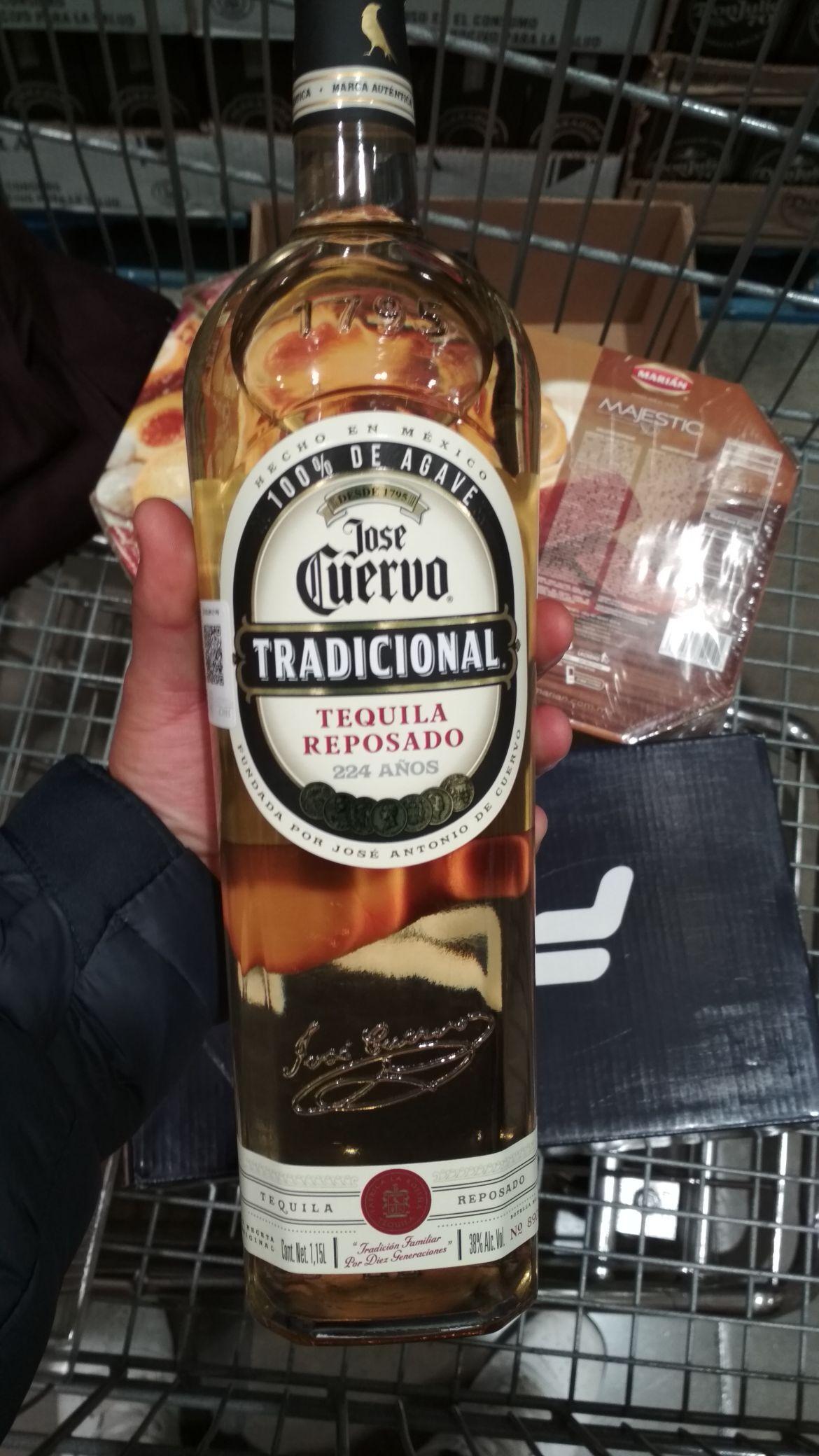 Costco: Tequila José Cuervo Tradicional ( 1,150L)