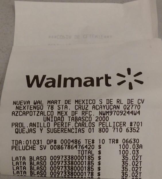 Walmart Carrizal Villahermosa: Café Blasón en lata a $35.02