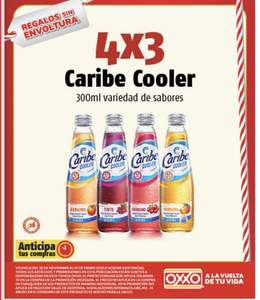 Oxxo: Caribe Cooler a 4x3