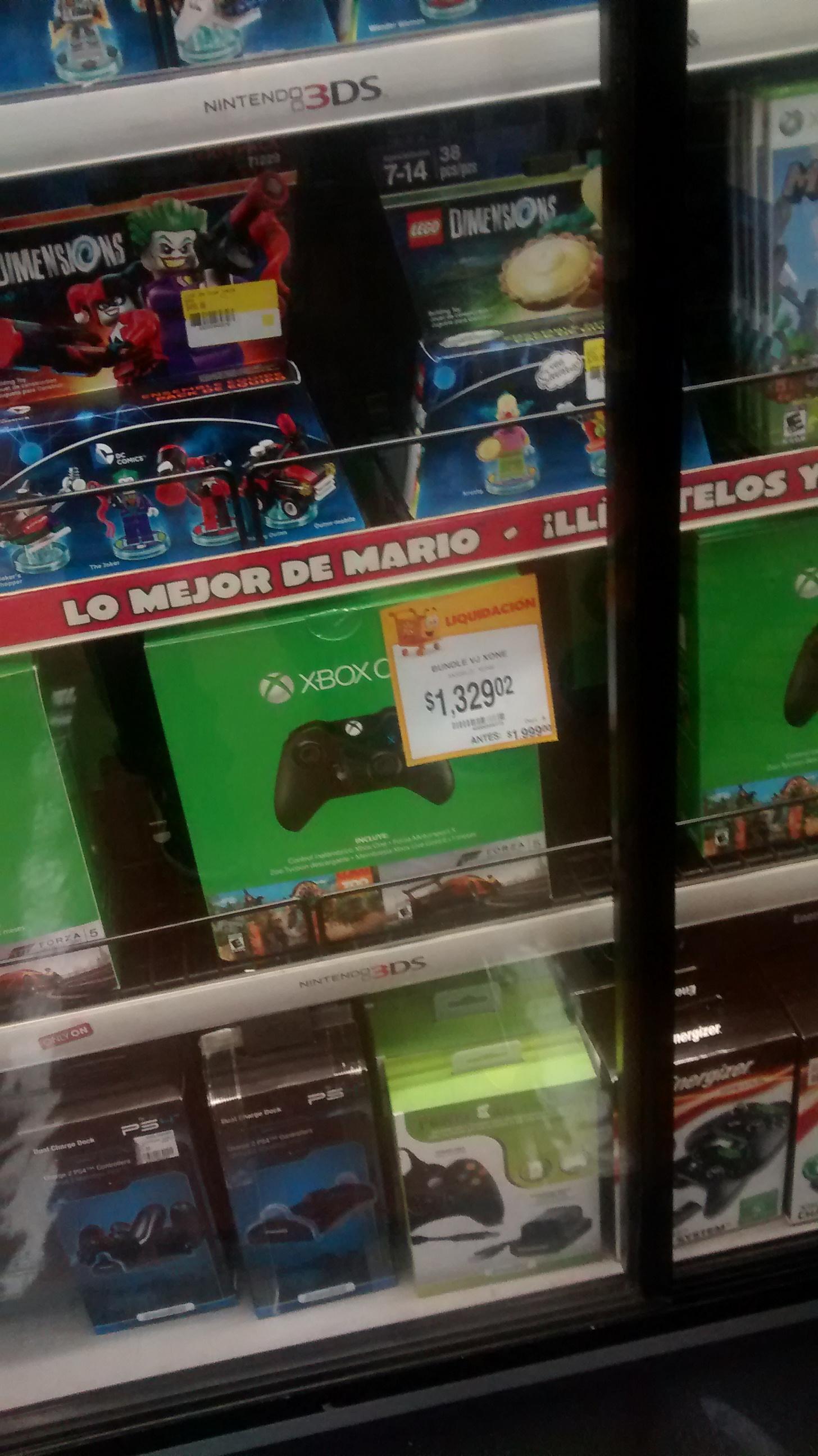 Walmart: control Xbox One más 2 juegos y 7 meses de Gold a $1,290.02