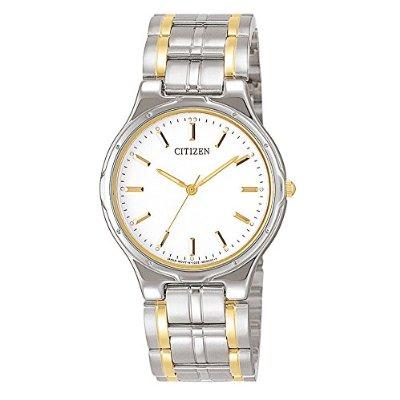Amazon: Citizen 3342 Reloj Clásico Análogo Cuarzo para Hombre, Color Blanco/Plateado a $999