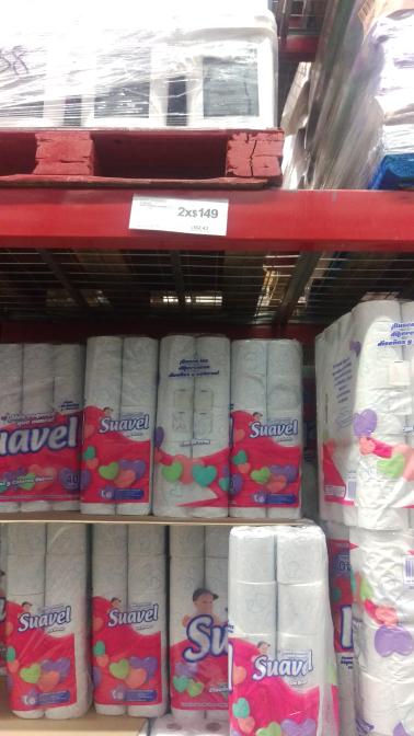 Sam's Club: papel higiénico Suavel de 40 rollos a 2x $149