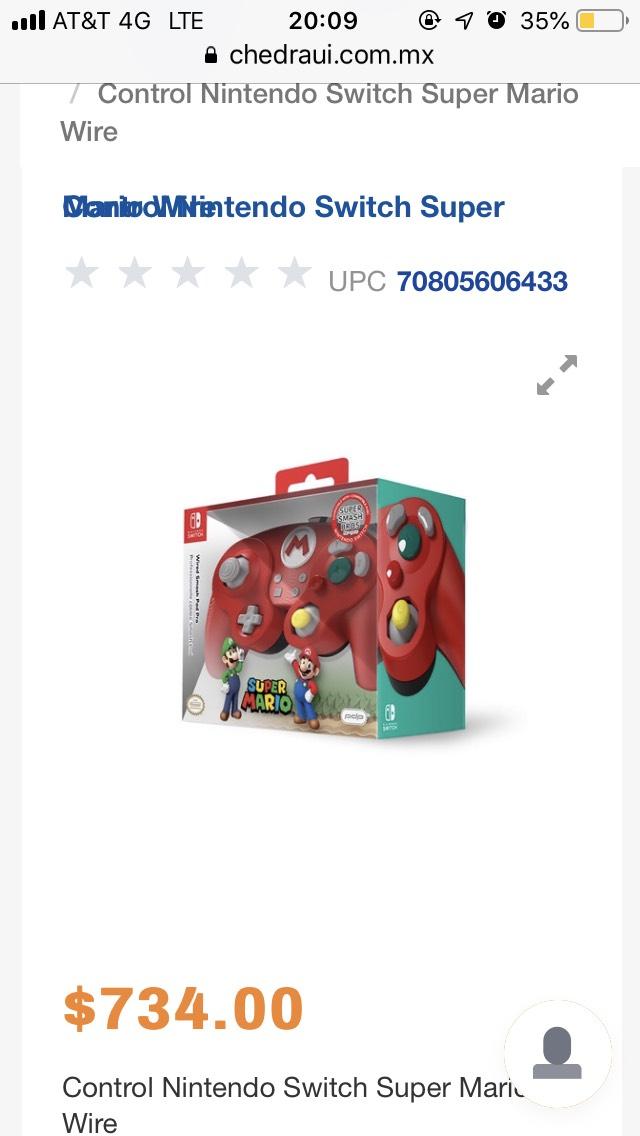 Chedraui: Varios artículos Nintendo Switch en descuento