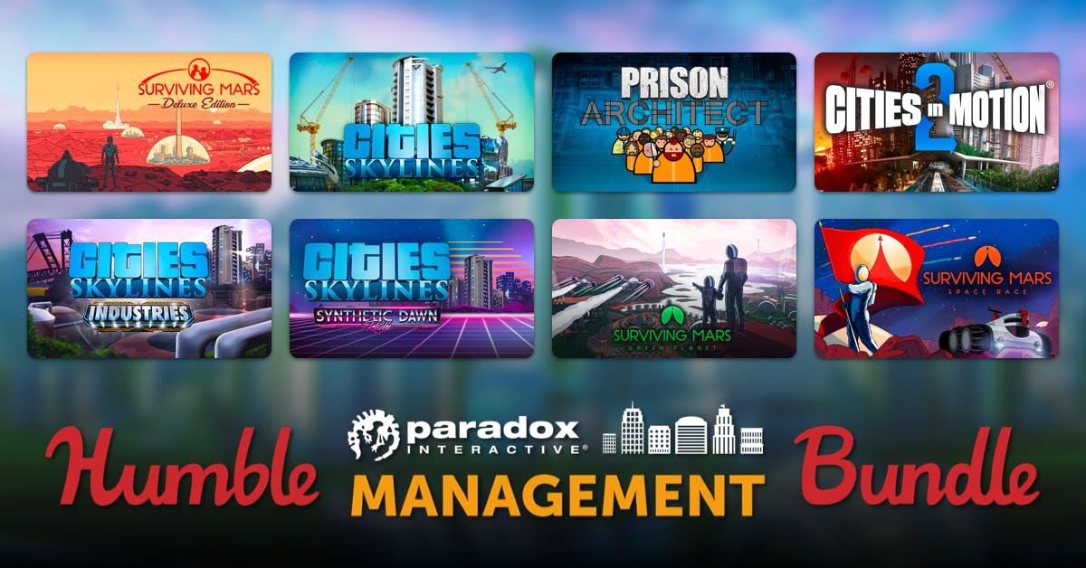 Humble Bundle: PARADOX MANAGEMENT BUNDLE