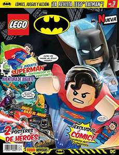 Amazon: Revistas LEGO DC (Incluyen MiniFigura)