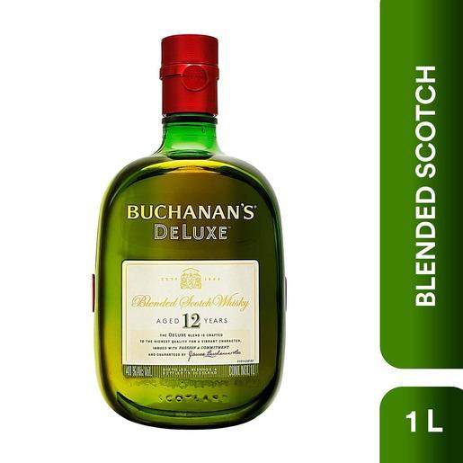 Chedraui: Whisky Buchanans 12 Años 1 Lt