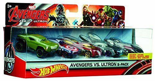 Amazon: Hot Wheels Marvel Avengers La Era De Ultron Paquete de 5 a $153