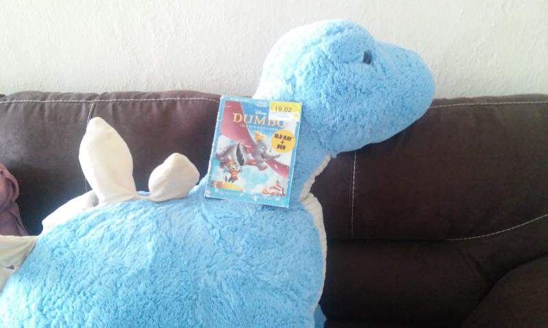 Walmart Veracruz Norte: dinosaurio de peluche grande de $699 a $195 y blu-ray de Disney a 19