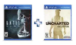 Elektra: Uncharted Collection + Until Dawn PS4