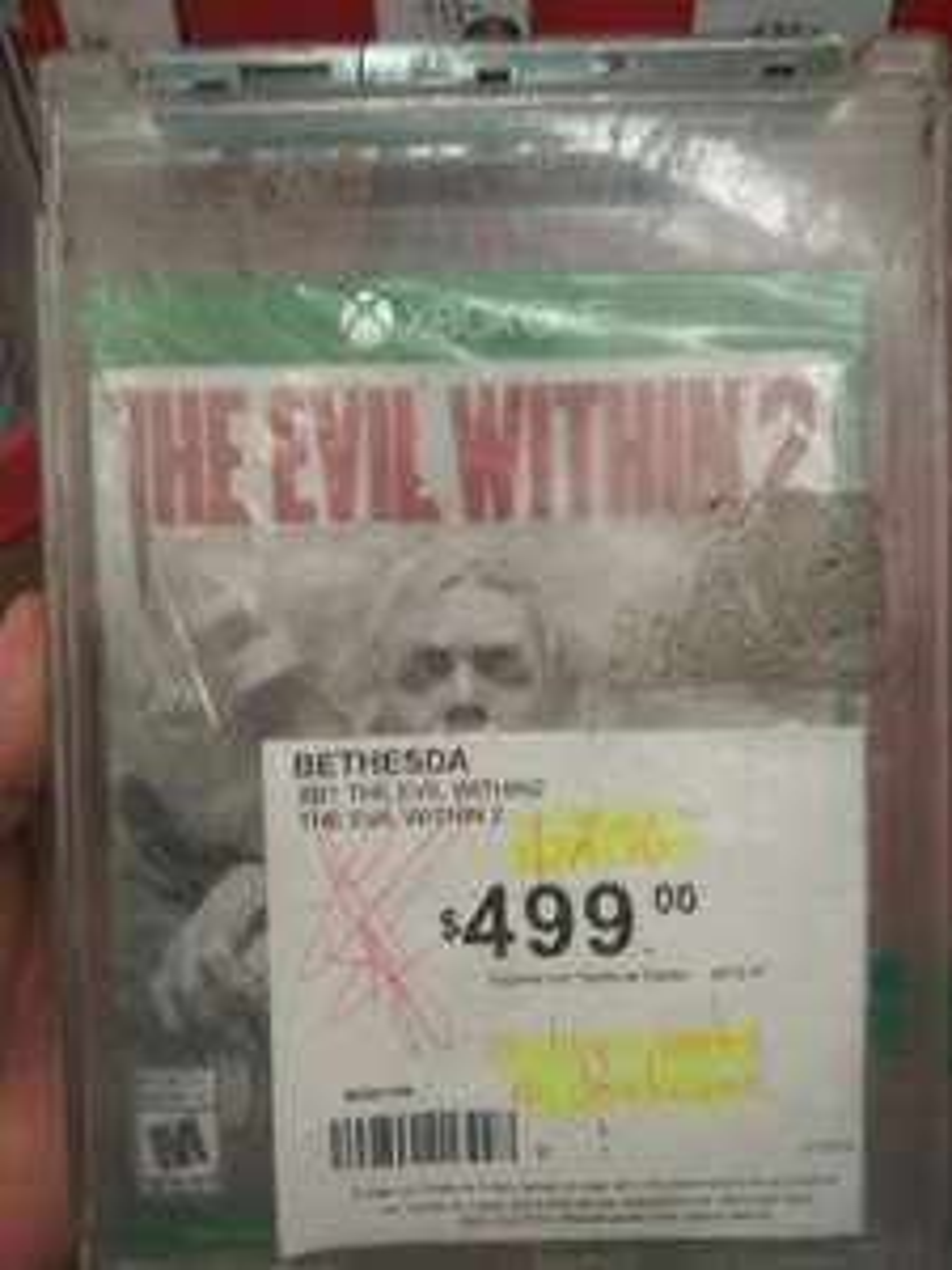 Sam's club: Xbox one evil within 2