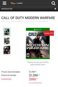 Game Planet: Call of duty Modern Warfare Xbox One/Ps4 Game Planet