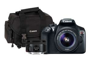 Tienda Canon: Kit T6 18-55 IS RFD + EF 50mm f/1.8 STM + Maleta 2400