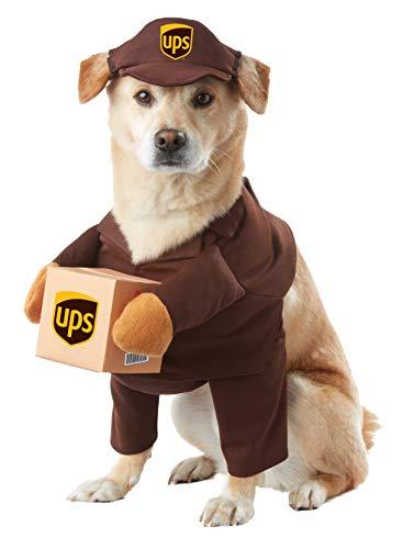 Amazon: Disfraz para perro UPS