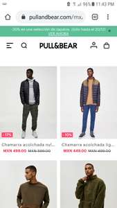 Promociones en pull and bear
