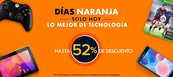 Linio: Días Naranja -Hasta 52% de Descuento en lo Mejor de la Tecnología-