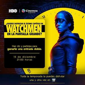 Cinemex: Watchmen capítulo final Gratis