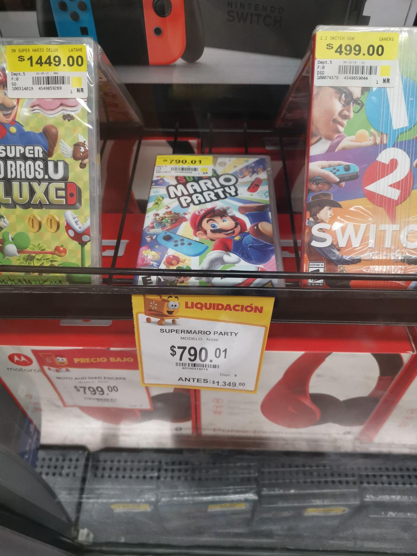 Walmart: Mario party