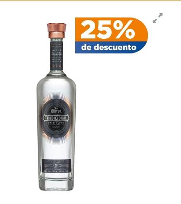 Chedraui: Tequila José Cuervo Tradicional Cristalino 750 Ml.