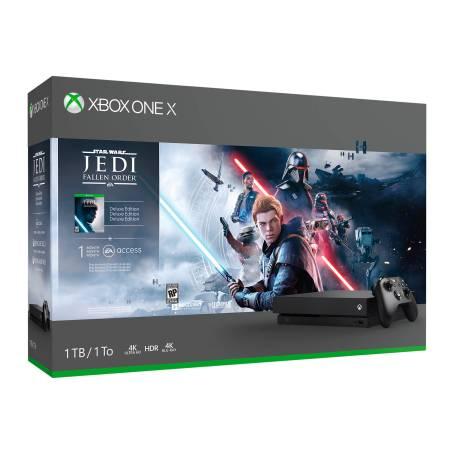 Sam's Club: Consola Xbox One X 1 TB + Star Wars Jedi Fallen Order Edición Deluxe (Descuento adicional pagando con tarjeta de débito)