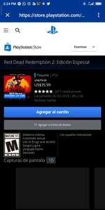PSN: Red dead redemption 2 especial edition