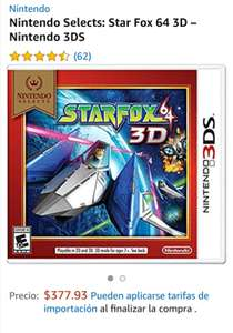 Amazon: Star Fox 64 3D – Nintendo 3DS
