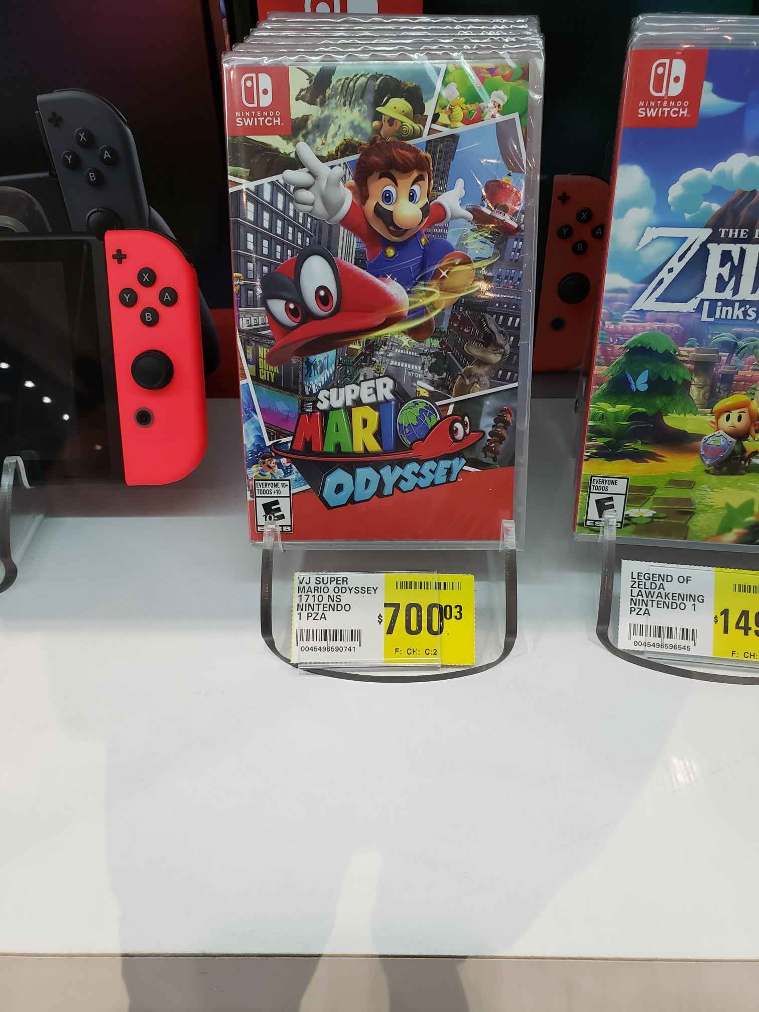 La comer: Super Mario Odyssey para Switch