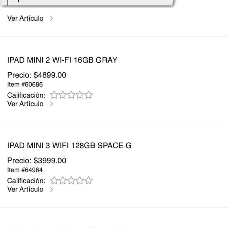ipad mini 3 128GB