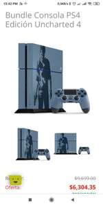 Soriana: PlayStation 4 Bundle Uncharted