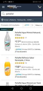 Amazon: Peñafiel de 2L a $10. 71
