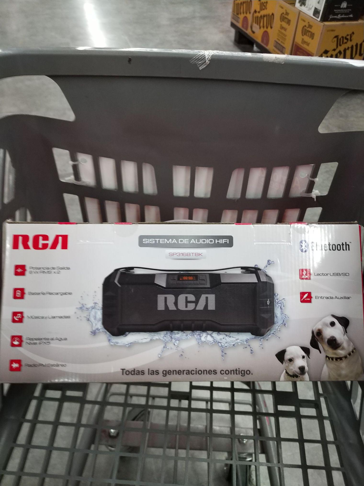 Walmart: Bocina RCA