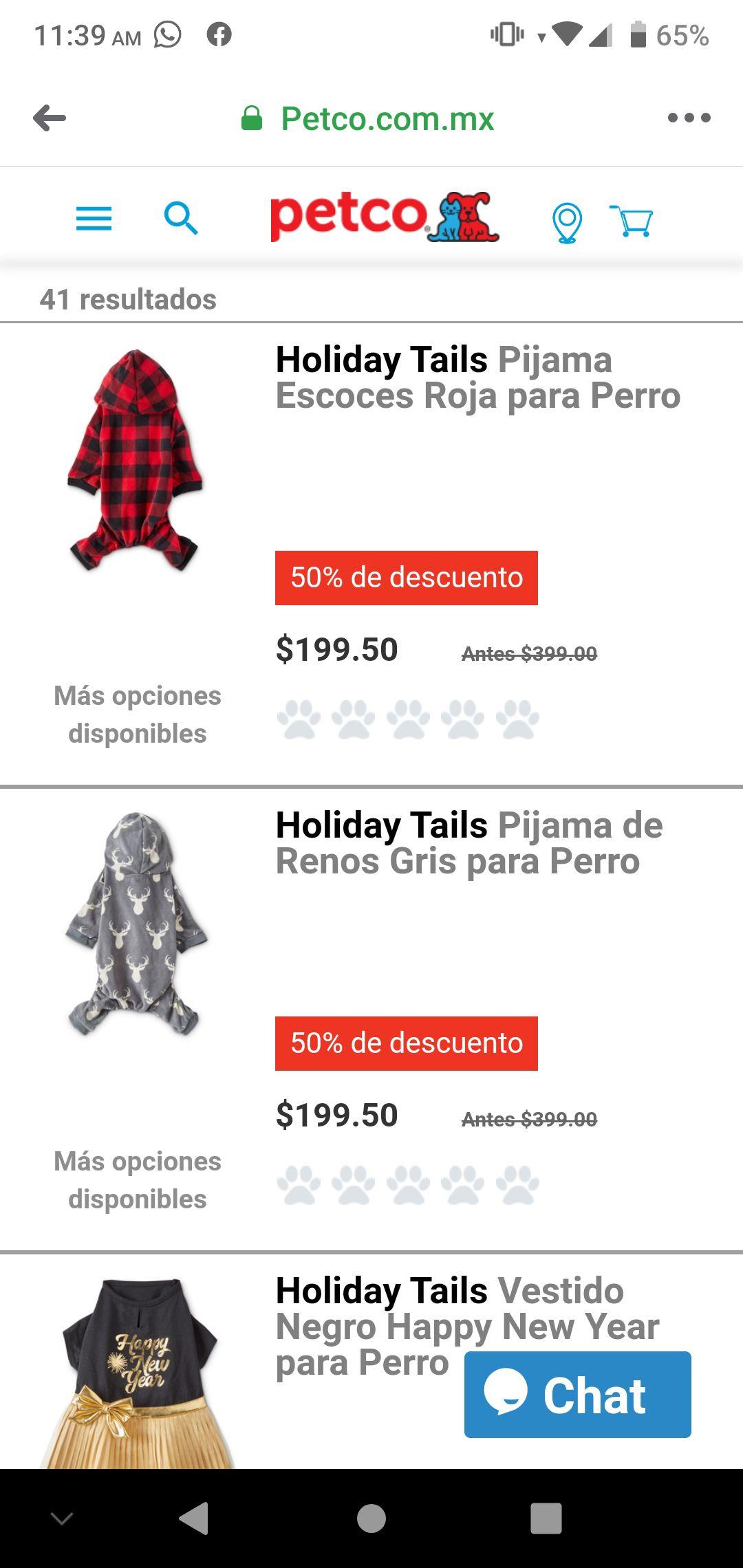 Oferta en outlet navideño de petco 50% +30%