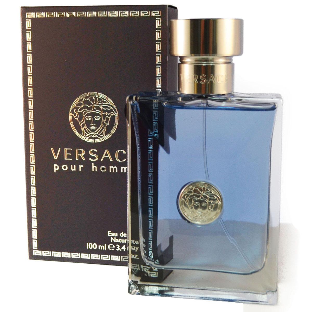 Chedraui: Loción Versace Pour Homme 100 ml para caballero