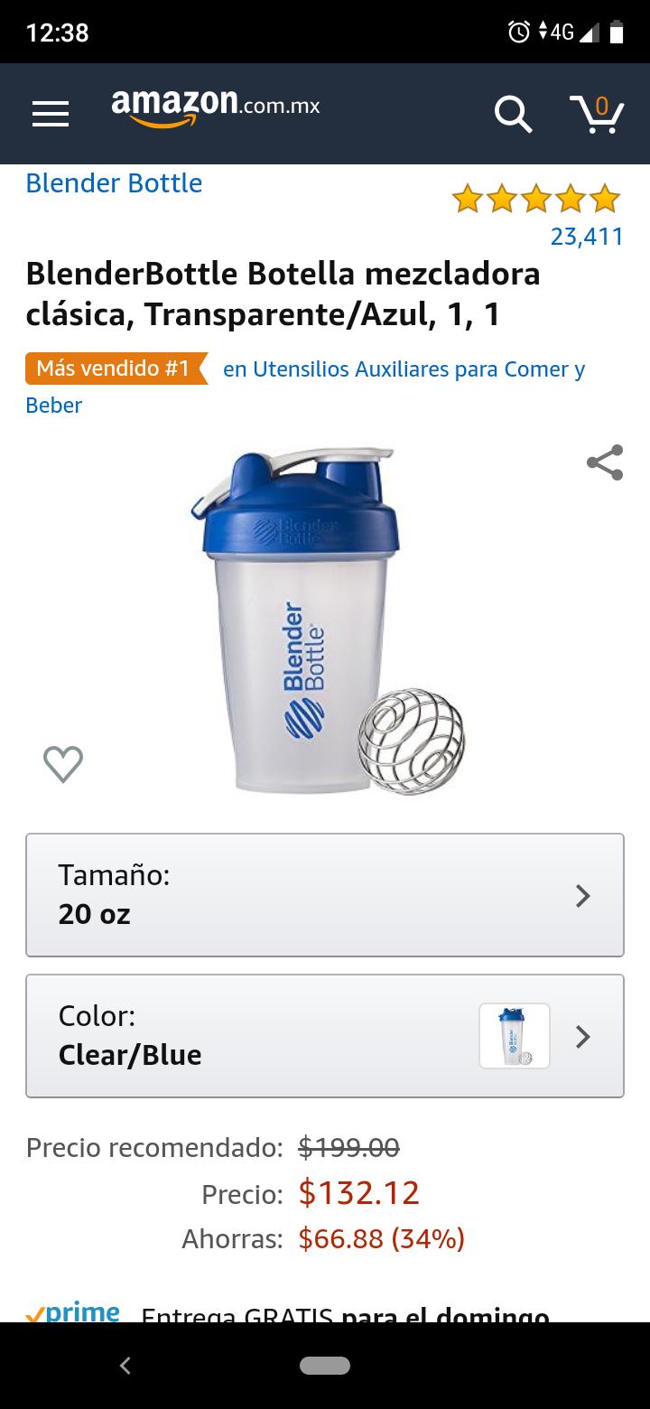 Amazon: Shaker bottle