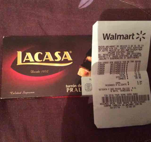 Walmart: turrón de naranja a $12.01
